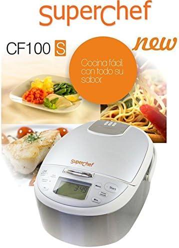 Superchef - CF100-S Cocinadora Multicooker: Amazon.es: Hogar