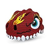 Zjoygoo kids helmet Bicycle Cycle Cycling Bike Helmet for Toddler Child Children Kids Safety Protection,Ultralight Breathable Sport Bike Helmet for youth boy girl Age 3-10 - Dinosaur Red