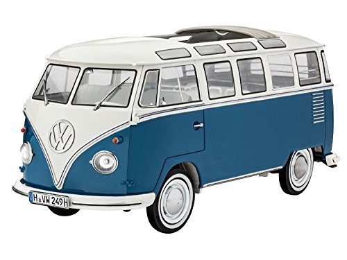 Revell level 07009 Volkswagen T1 Samba Bus Volkswagen Sanbabasu 1/16 [parallel import - Level Volkswagen
