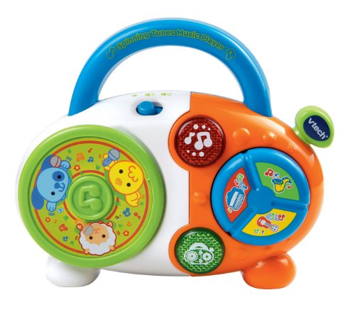 Kids Toys Music Player - VTech Spinning Tunes Music Player