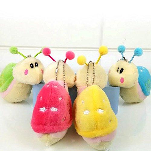 New Snails Stuffed Animal Baby Kids Plush Toys Birthday Shower Gift(Color in Random)