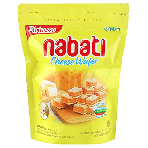 Richeese Nabati Cheese Wafer 125g (628MART) (3 Packs)