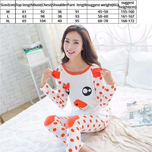 Amazon.com: MH-RITA 2017 Autumn Pyjamas Women Pijamas Cartoon Pig Character Pajamas Sets,Women Pajamas 04,M: Clothing
