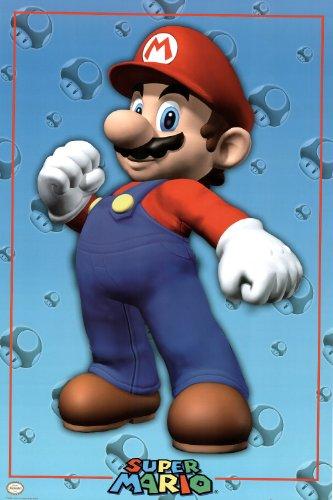 Nintendo Mario Video Game Poster Print