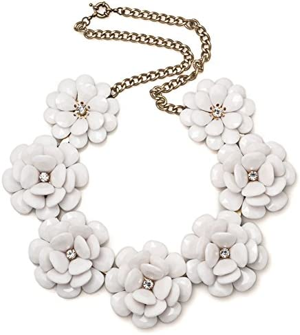 Corykeyes Colorful Flower Statement Necklace product image