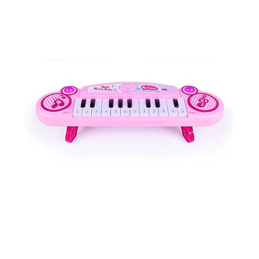 2018 Nuevo Niños Mini Piano Electrónico 12 Botones Modo Dual Teclado Bebé Juguete Educativo Regalo de Navidad: Amazon.es: Hogar