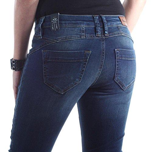 062 Jeans dark Aus Slim Indiana Blu Blue Donna Fritzi Preussen qfxHtF
