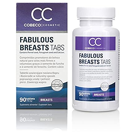Cc fabulous breasts comprimidos reafirmante de pechos