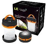 LED Camping Laterne Laterne - Taschenlaterne 5 cm hoch - 3 Helligkeitsstufen 30 Stunden Licht