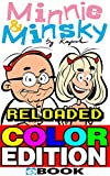 Minnie & Minsky Reloaded Color Edition: Knallbunte Comicstrips vom skurrilen Paar (German Edition)