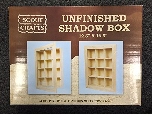 Scout Crafts Shadow Box (Shadow Box Crafts)