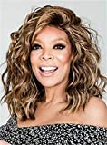 FidgetFidget Wendy Williams Medium Loose Curly Hair Wigs