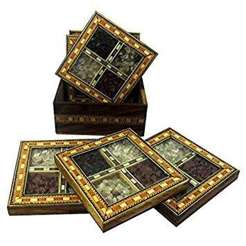 Gift Handmade Designer Wooden Tea Coaster