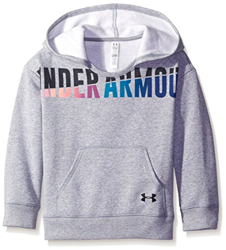 UPC 889819580978, Under Armour Girls' Favorite Fleece Hoodie, True Gray Heather/Black, Youth X-Large