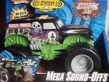 Hot Wheels Monster Jam Mega Sound-Offs Grave Digger Vehicle