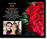 Best Poetry Gifts Gift For A Boyfriends - I Love You Gift for Wife, Husband, Girlfriend Review