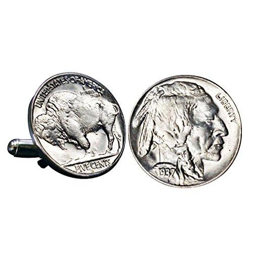 American Coin Treasures Buffalo Nickel Cuff Links