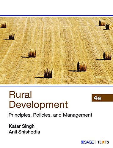 Rural Development: Principles; Policies; and Management