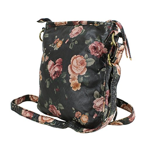 Vintage Purse Crossbody Hipster Rose Bag 4Cqddgw
