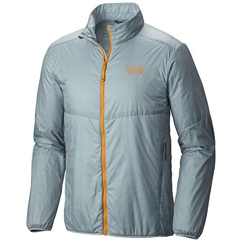Mountain Hardwear Micro Thermostatic Hybrid Jacket - Men's Ice Shadow Small