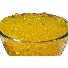 SHEING 5000-Piece Transparent Reusable Water Beads Gel, Gold