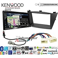 Volunteer Audio Kenwood DNX574S Double Din Radio Install Kit with GPS Navigation Apple CarPlay Android Auto Fits 2010-2013 Hyundai Tucson