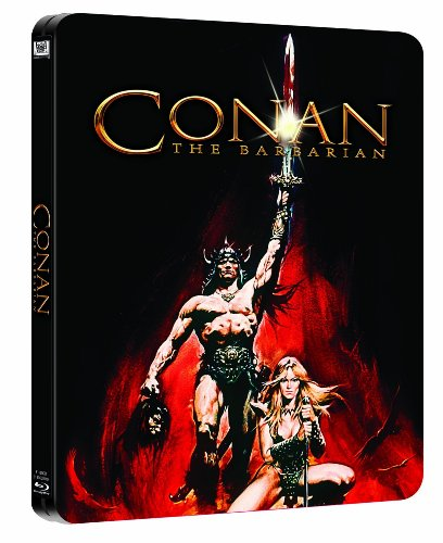 Conan the Barbarian - Limited Blu-Ray Steelbook Edition Region Free (Ray Conan Blu)