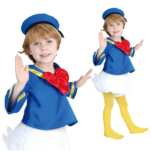 Donald And Daisy Costumes (Disney Donald Kids costume unisex 80cm-100cm 802053T)