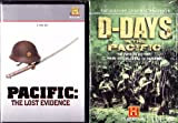 The History Channel : Pacific : The Lost Evidence Complete Series : Pearl Harbor , Guadalcanal , Tarawa , Saipan , Guam , Leyte , Iwo Jima , Okinawa :The History Channel : D-Days In The Pacific WWII : Death At The Tideline , Closing The Jaws , The Final Graveyard , The Bloody Hills Of Peleliu , Biography Admiral Chester Nimitz , Biography General Douglas McCarthur : 2 Box Sets Over 11 Hours - 4 Discs - Ultimate Pacific War Gift Set