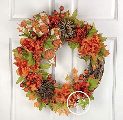 Twig Pumpkin Wreath - Twig Pumpkin