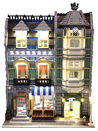 Brick Loot Lighting Kit for Your Lego Green Grocer Set 10185 Set