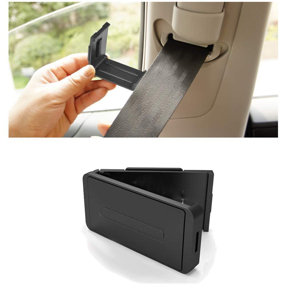 Lot de 4 clips de ceinture de s/écurit/é pour voiture avec soutien confortable pour d/étendre les /épaules et le cou pour adultes et enfants