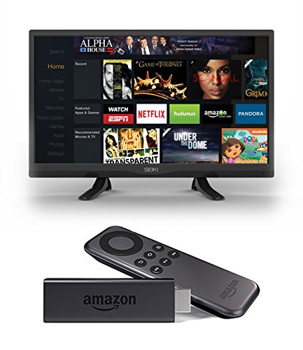 Seiki SE32HY 32-Inch 720p 60Hz LED TV and Amazon Fire TV Stick review