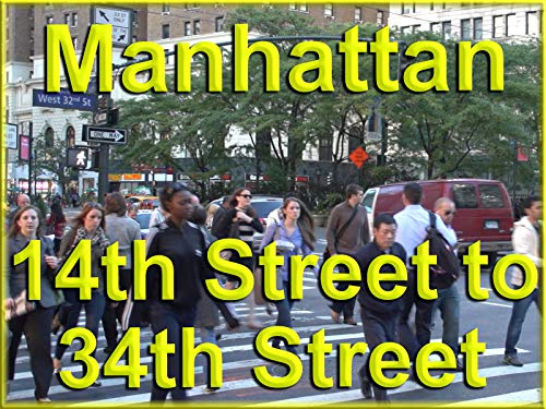 Manhattan 14th to 34th Streets