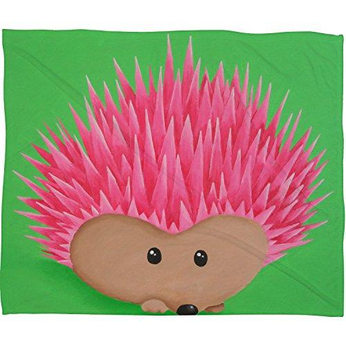 DENY Designs Hazell Hedgehog Blanket