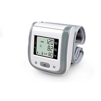 Tensiómetro de muñeca Monitor de la presión arterial de la muñeca de medición automático con pantalla