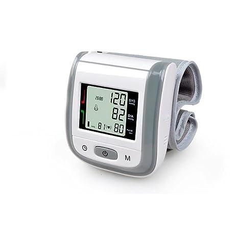 ZWW Tensiómetro de muñeca Monitor de la presión arterial de la muñeca de medición automático con
