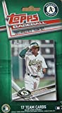 Oakland Athletics 2017 Topps Factory Sealed Special Edition 17 Card Team Setwith Sonny Gray and Josh Reddick Plus