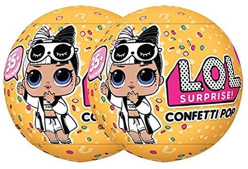 - L.O.L. Surprise Confetti Pop Series 3 Wave 2 Bundle Of 2 Dolls