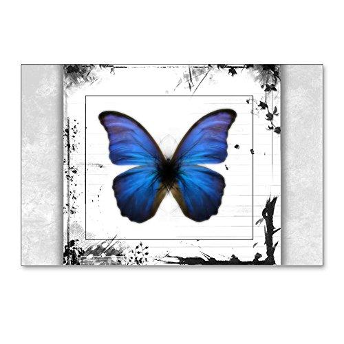 Postcards (8 Pack) Blue Butterfly Still Life -