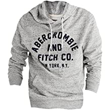 Abercrombie Men's Graphic Applique Pullover Hoodie