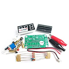 Specification  Kit Model : VOT-8  Operating voltage : 3.5 ~ 25V  PCB Size : 33 * 52mm  Measuring range : 0 ~ 30V  Accuracy : 0.1V  VOT-8 voltmeter kit consists button switch control can work in two-wire or three- wire system in the state . ( ...