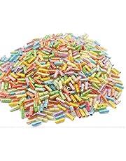 GEO-VERSAND 100 capsules met opgerolde liefdesbrieven, meerkleurig, 100143