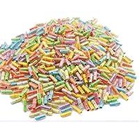 GEO-VERSAND 100x Kapseln mit Gerollten Liebesbriefen, mehrfarbig, 100143