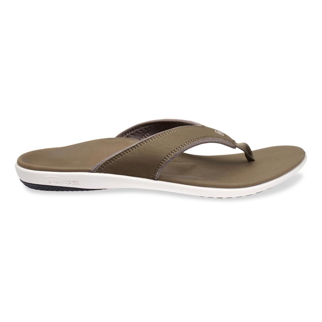 Spenco Herren walnuss Yumi Flip Flop Sandale walnuss Herren e68372