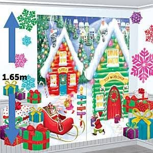 Polo norte kit decoraciones de navidad de decoraci n for Amazon decoracion navidad