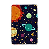 Vantaso Soft Blankets Throw Sun Planet Emoji Gold Twinkle Stars Orange Green and Black Microfiber Polyester Blankets for Bedroom Sofa Couch Living Room for Kids Children Girls Boys 60 x 90 inch