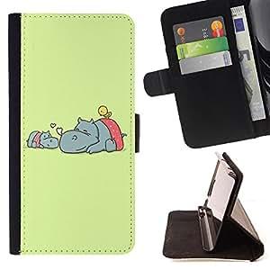 Jordan Colourful Shop - FOR Apple Iphone 5 / 5S - strong for too long - Leather Case Absorci¨®n cubierta de la caja de alto impacto