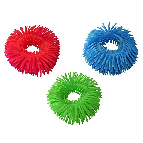 Munchables Set of 3 Wiggles Bracelets Sensory Fidget Aides - For reducing anxiety and increasing concentration in both Adults and - Usps Rates Canada