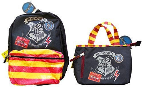 Price comparison product image NEW Hogwarts School Harry Potter Backpack & Lunch Box! Back to School Set!